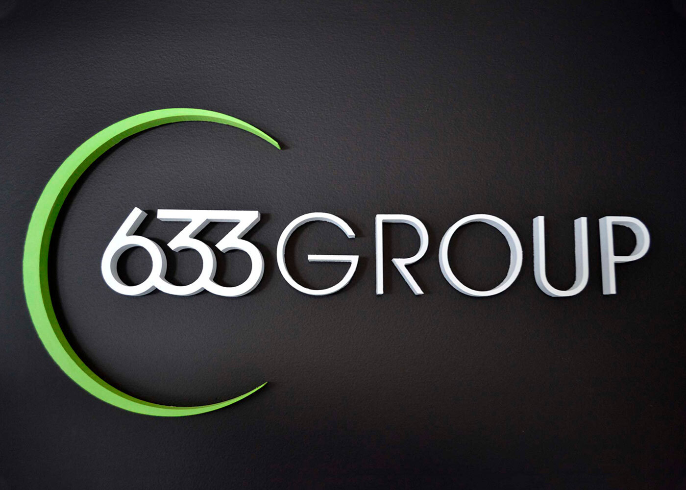 633 Group entryway logo