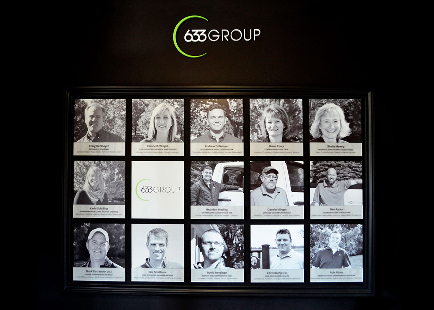 633 Group Staff Gallery