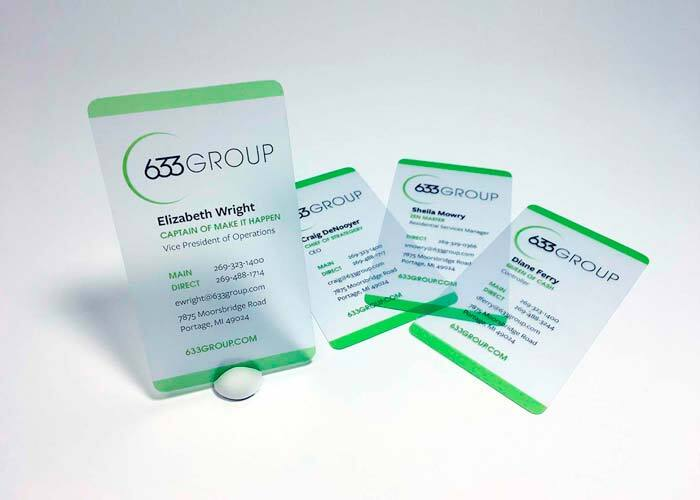 633 Group Business Cards