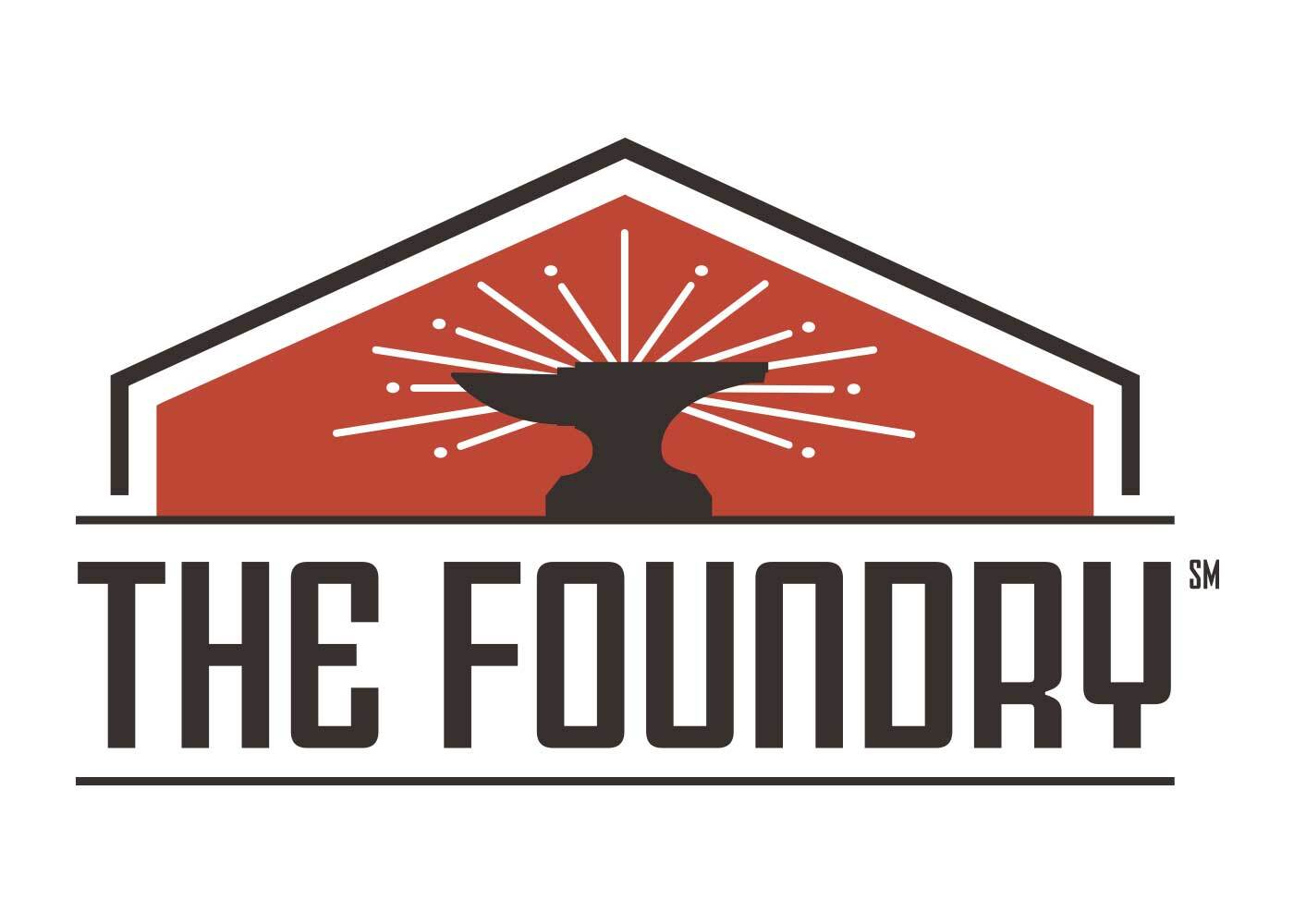 Treystar The Foundry logo - Identity